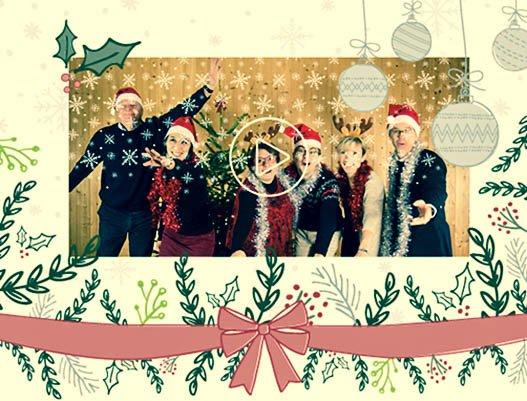 Comment Souhaiter Joyeux Noel Sur Facebook.Tres Joyeux Noel Et Bonne Annee 2018 Le Cedre