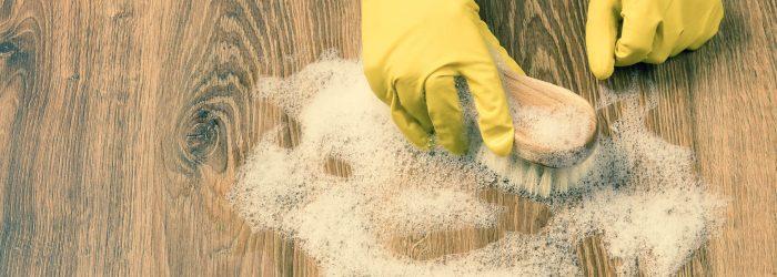 nettoyage sol produits d'entretien